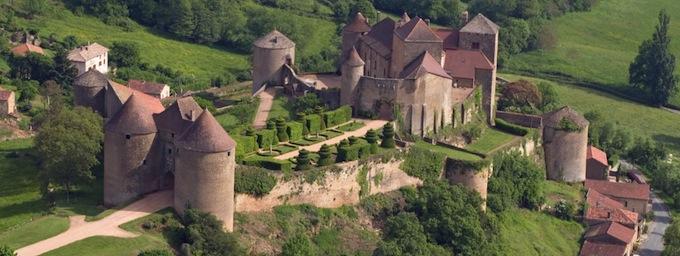la forteresse de Berzé-le-chastel