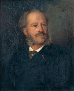 Émile Cartailhac portrait conservé au musée des Augustins de Toulouse