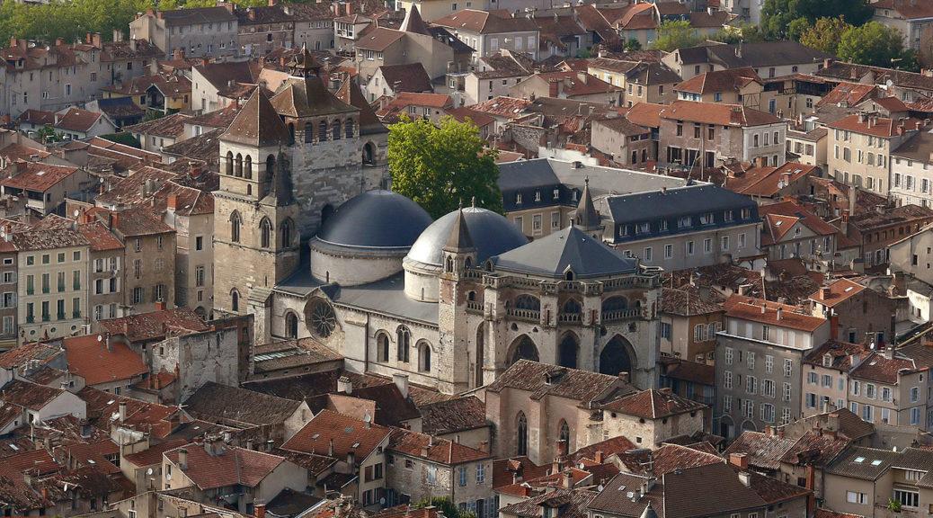 Cahors ensemble cathédrale