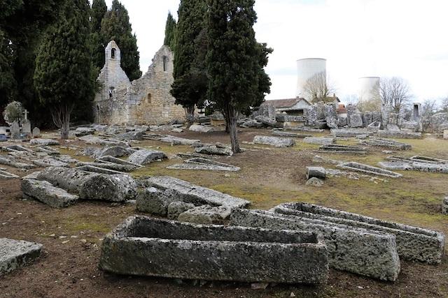 la nécropole mérovingienne de Civaux