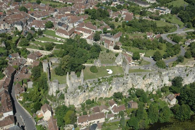 forteresse et village d'Angles-sur-l'Anglin