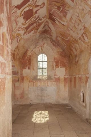 La chapelle Ste-Catherine de l'église Notre Dame d'Antigny